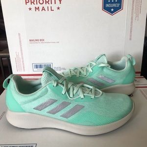 NEW Adidas Purebounce+ Street Clear Mint Sneakers